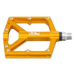 M-WAVE pedále BMX zlaté