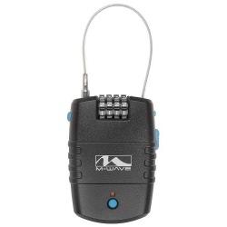 M-WAVE zámok lankový alarm