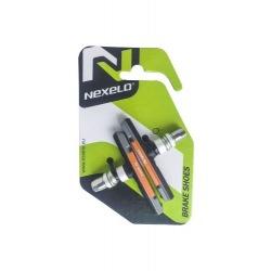 NEXELO brzdové gumičky MTB V-Brake 3 zmesi závit