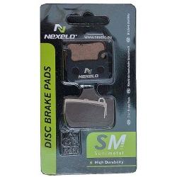 NEXELO brzdové platničky Shimano XTR/XT semimetalické