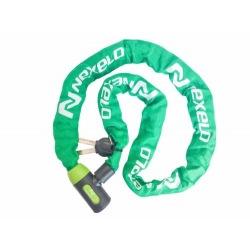 NEXELO zámok reťaz 1200mm zelený