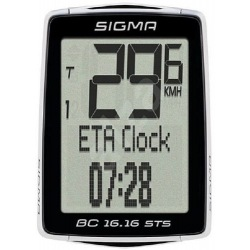 SIGMA tachometer BC 16.16 STS Cadence