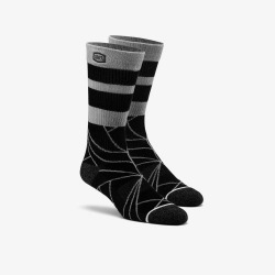 100% ponožky Fracture Athletic Black