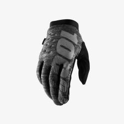 100% rukavice Brisker Heather Grey