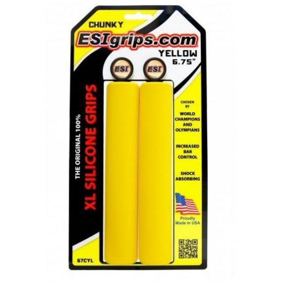 ESI gripy Chunky XL žlté