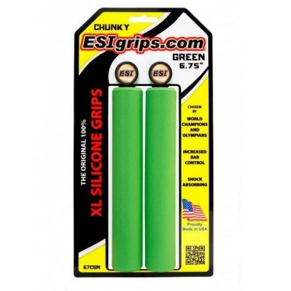 ESI gripy Chunky XL zelené