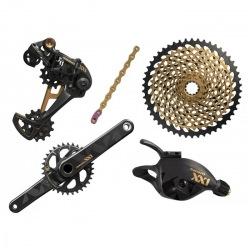 SRAM sada XX1 EAGLE 1x12sp GXP GOLD
