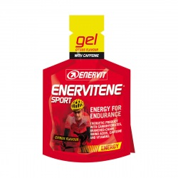 Enervit gel 25ml citrus+kofeín