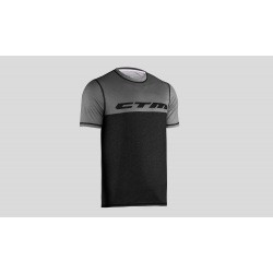 CTM dres Tech Tee Dark Grey/Grey