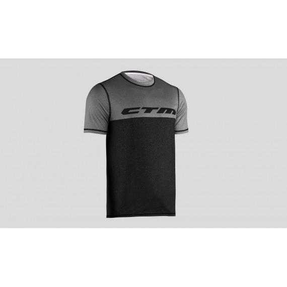 CTM dres Tech Tee Bordeaux/Dark Grey 2019