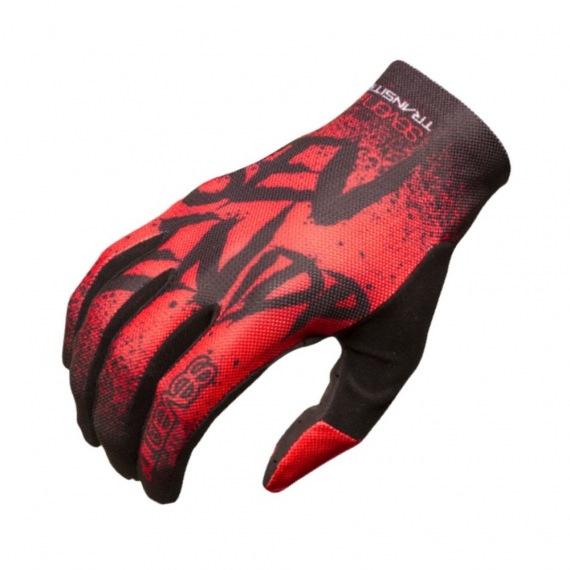 7idp detské rukavice Transition Gradient Graphite Black 2019