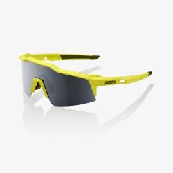 100% okuliare Speedcraft SL Soft Tact Banana čierne zrkadlové sklá