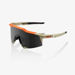 100% okuliare Speedcraft Soft Tact Quicksand dymové sklá