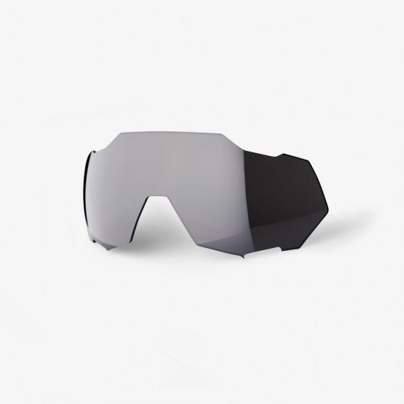 100% náhradné sklo Speedtrap čierne zrkadlové