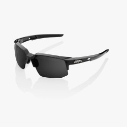 100% cyklistické slnečné okuliare Speedcoupe Polished Black šedé PeakPolar sklá