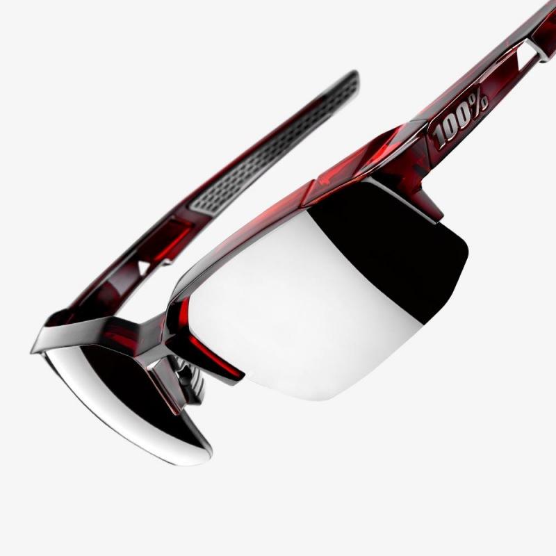 11e8aff09 ... 100% cyklistické slnečné okuliare Speedcoupe Matte White HiPer modré zrkadlové  sklá