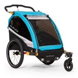BURLEY odpružený detský vozík D'Lite X aqua