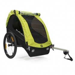 BURLEY detský vozík Minnow zelená