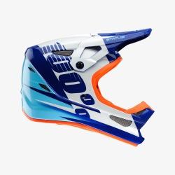 100% prilba Status DH/BMX Kelton Blue