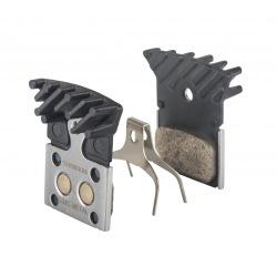 SHIMANO brzdové platničky metal s chladičom L04C