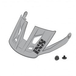IXS náhradný šilt + šróby Trigger AM Grey
