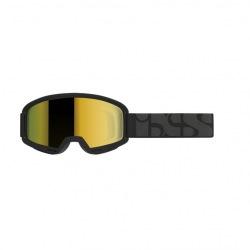 IXS okuliare Trigger White strieborné zrkadlové sklá