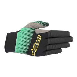 ALPINESTARS rukavice Cascade Pro Black/Summer Green 2019