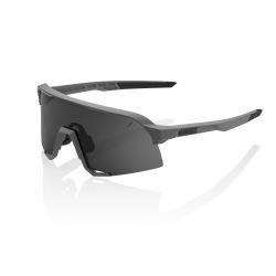 100% okuliare S3 Matte Cool šedé dymové sklá