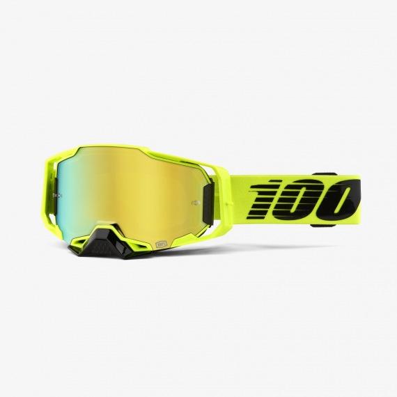 100% okuliare Armega MX MTB Royal modré zrkadlové sklá