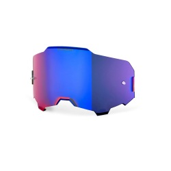 100% náhradné sklo Armega HiPer modré zrkadlové
