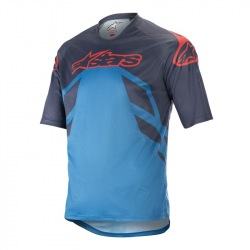 ALPINESTARS dres Racer V2 SS BLACK/ANTHRACITE/GREY