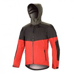 ALPINESTARS bunda TAHOE WP BLACK RED DK SHADOW