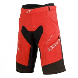 ALPINESTARS Kraťasy s cyklovložkou Drop 2 Red Black