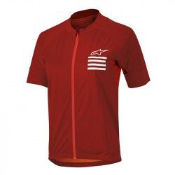 ALPINESTARS dámsky dres Stella Trail Full Zip Red