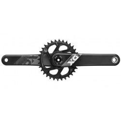 SRAM kľuky X01 Eagle Carbon Red DUB Boost 32z 175mm 12sp