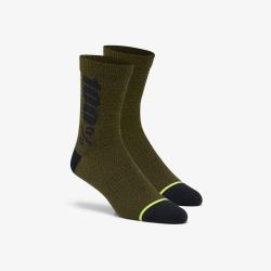 100% ponožky Rythym Merino Brick