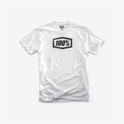 100% tričko Essential White