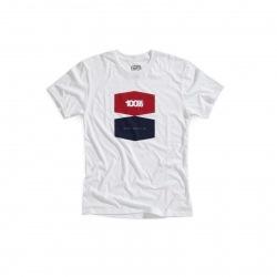 100% tričko Balance White