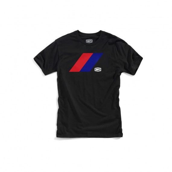 100% tričko Bray Black