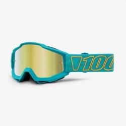 100% okuliare Accuri MX MTB Galak zlaté zrkadlové sklá