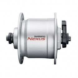 SHIMANO náboj s dynamom Nexus DHC3000 6V/3W 36D. strieborný
