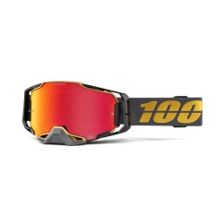 100% okuliare Armega MX MTB FALCON 5 HiPer červené zrkadlové sklá