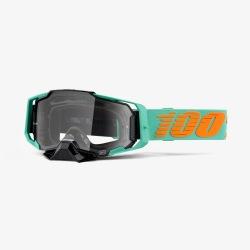 100% okuliare Armega MX MTB Royal číre sklá