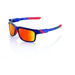 100% slnečné okuliare Type-S Anthem Hiper červené zrkadlové sklá