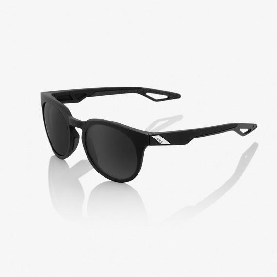 100% slnečné okuliare Campo Soft Tact Crystal Black HiPer červené zrkadlové sklá