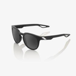 100% slnečné okuliare Campo Soft Tact Black PeakPolar šedé sklá