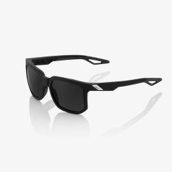 100% slnečné okuliare Centric MATTE Black dymové sklá