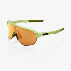 100% okuliare S2 MATTE METALLIC VIPERIDAE bronzové zrkadlové sklá