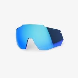 100% náhradné sklo RACETRAP HiPer modré zrkadlové