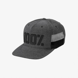 100% šiltovka FRONTIER SnapBack GREY HEATHER